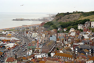 Historic Hastings town.