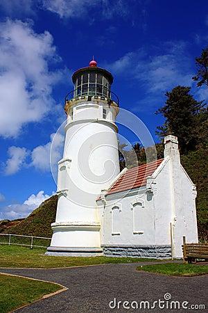 Free Historic Heceta Lighthouse, Oregon Stock Image - 86135471