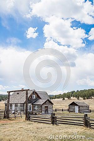 Free Historic Hornbeck Homestead Colorado Ranch Farm Royalty Free Stock Photo - 95258685