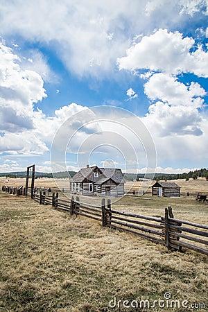 Free Historic Hornbeck Homestead Colorado Ranch Farm Royalty Free Stock Photo - 95623075