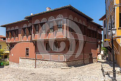 Historic House in Plovdiv Editorial Image