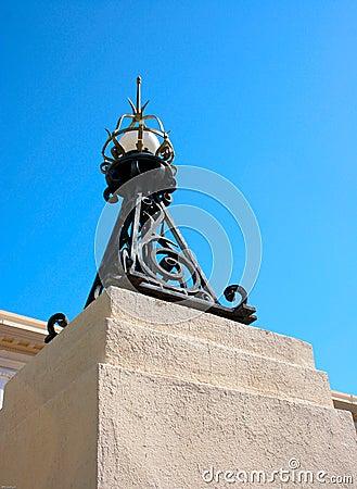 Historic Iron Streetlight