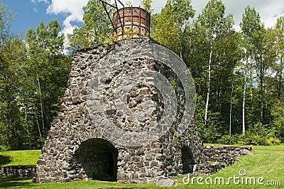 Historic Katahdin Iron Works Maine