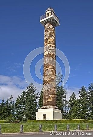 Historic Landmark of Astoria Column