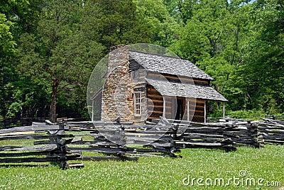 Historic landmark cabin