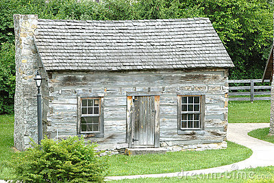 Historic Log Cabin 1770