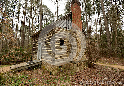 Historic Log Cabin in North Carolina