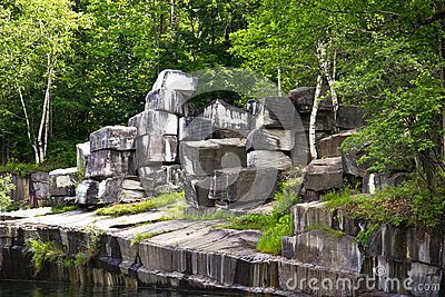 Historic Marble Quarry in Dorset, Vermont