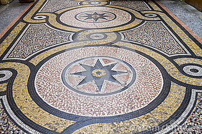 Historic Mosaic floor, Paris