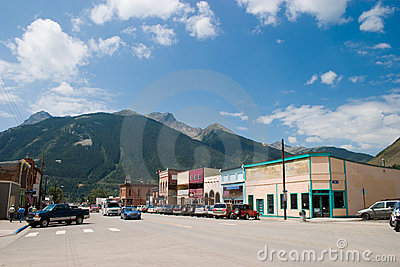 Historic Mountain Mining Town