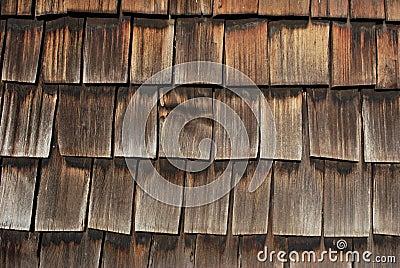 Historic Oklahoma Home Exterior Shingle Wall