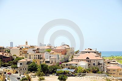 Historic old city Jaffa Israel