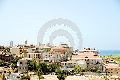 Historic old city Jaffa Israel