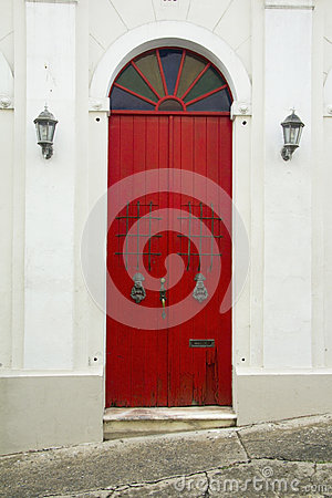 Historic Old San Juan - Red Doors