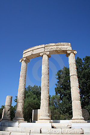 Historic olympia - greece