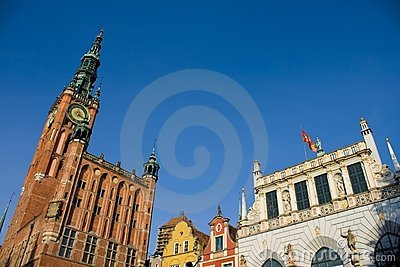 Historic Part of Gdansk