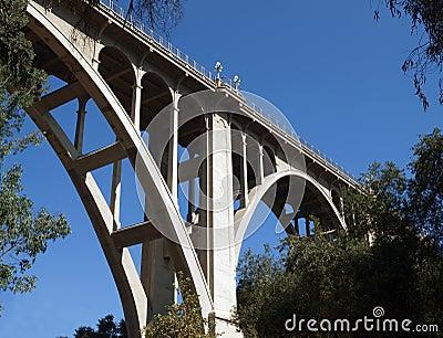 Historic Pasadena Bridge
