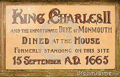 Historic plaque, Poole