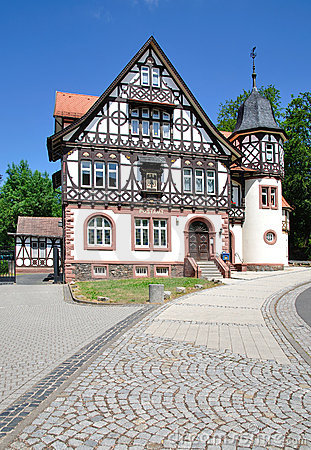 Historic Post Office,Thuringian Forest