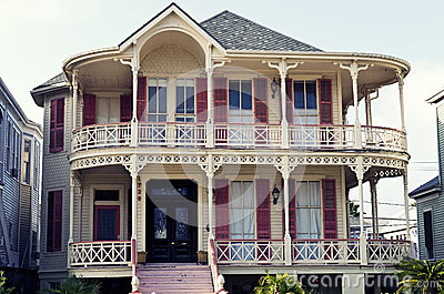 Historic Queen Anne Victorian House in Gaveston, Texas