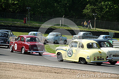 Historic Race Cars Editorial Stock Image