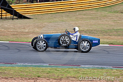 Historic racing car Editorial Photo