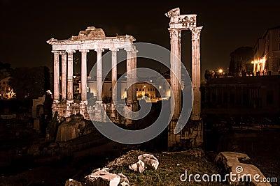 Historic Rome architecture