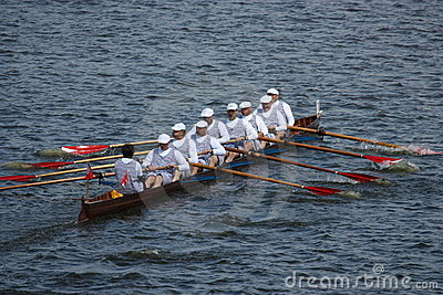 Historic rowing show Editorial Image