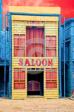 The Historic Saloon close-up
