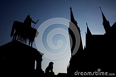 Historic silhouette