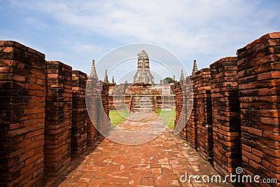 Historic site of Ayuthaya