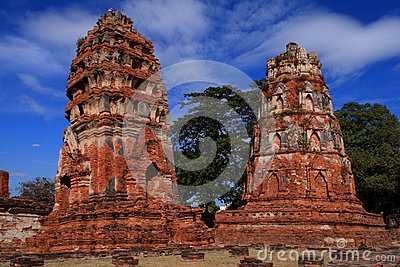 Historic site of ayutthaya