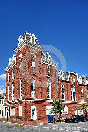 Historic Stams Hall in Chestertown Maryland