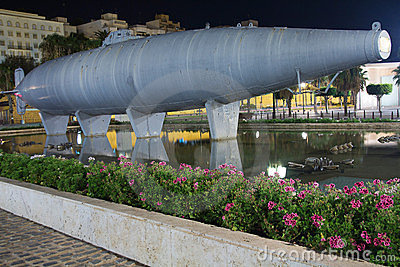 Historic submarine built in 1888 by Isaac Peral