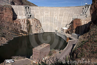 Historic Theodore Roosevelt Arizona Dam