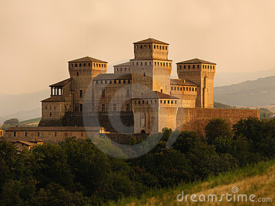 Historic Torrechiara Castle