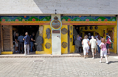 Historic tourist shop Editorial Photo