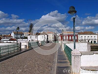 Historic town Albufeira in Algarve,Portugal