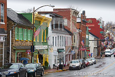 Leesburg, Virginia Editorial Stock Photo