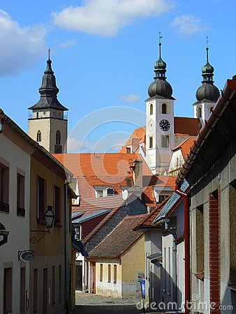 Historic town of Telc