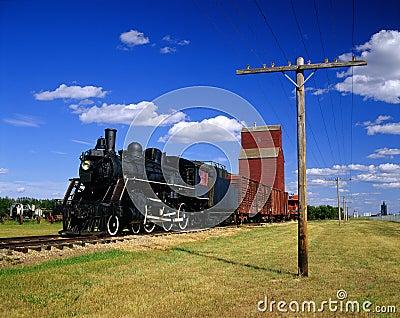 Historic train a