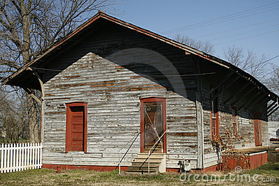 Historic Train Station In Belle Mina Alabama