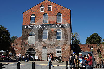 Historic Tredegar Iron Works, Richmond Virginia Editorial Stock Image