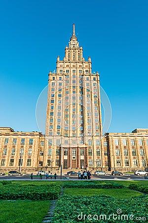Historic university building