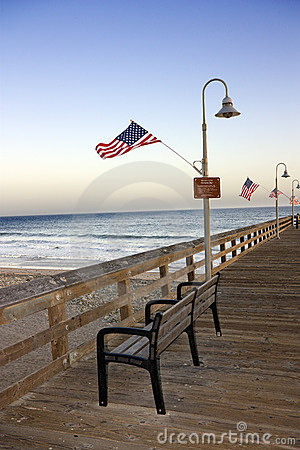 Historic Ventura Pier, California