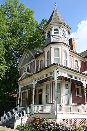 Free Historic Victorian Home Royalty Free Stock Photos - 660948