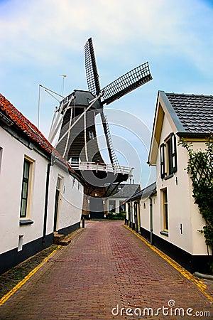 Historic village in Netherlands