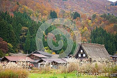 Historic village Shirakawa-go, Japan