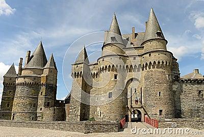 Historic Vitre Castle