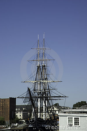 Historic war ship